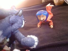 Coraline meets Sonic by kosmo1995