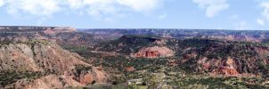 Palo Duro Canyon Panoramic by Stock-by-Kai