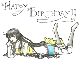 Happy Birthday Lolitaaa -late- by beansbigtop