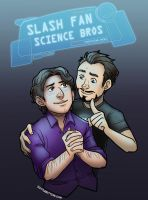 Science Bros by ScuttlebuttInk