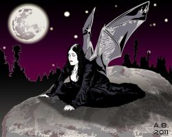 Helina_Gothic_Bat_Wings by AlexBaxtheDarkSide
