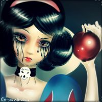 Snow White - How about you ******* eat it? by Delightful-Envy
