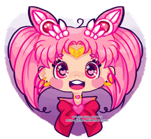 Sailor ChibiMoon by Miss-Glitter