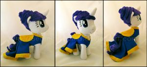 Plushie: Canterlot Rarity - My Little Pony: FiM by Serenity-Sama