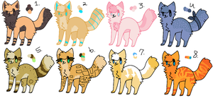 adoptables - open by C0LD-FRONT