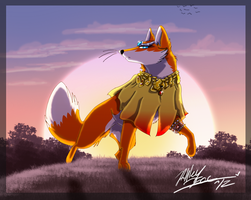 Royalty-Like Vixen by xAshleyMx