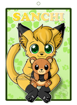 Sanchi Badge by Veemonsito