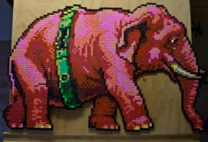 I see pink elephants by ForsInk-Creation