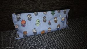 Doctor Who pencil case by HalfBloodAssassin