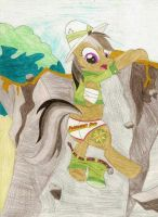 Daring Do loses her shorts by wjmmovieman