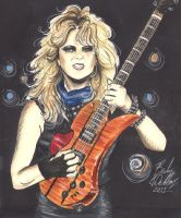 Lita Ford by cozywelton