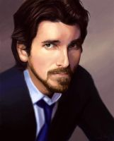 Christian Bale by aragornbird