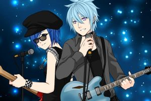 Aoi and Max by jasflare50