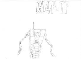 Claptrap Outline by stonerloner