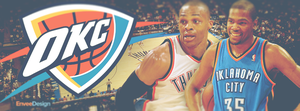 OKC (Oklahoma City Thunder) - Facebook Cover Photo by enveedesigns