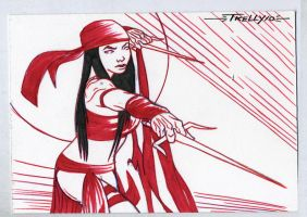 Elektra assassin by TomKellyART