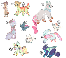 [[Lowered price and resell]] Adoptables {open} by WHlH