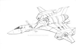 Commissioned submarine fighter by Jepray