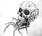 Apocalyptic Skull by crossfade528