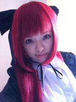 Erza Gothic Lolita Cosplay Test by takkeaya