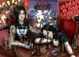 Too Much Alcohol by Jez-theUndead
