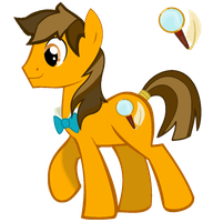 Golden Tie P.I. by thegoldfox21