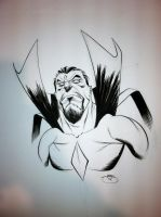 Heroes Con, MR. Sinister by Inkpulp