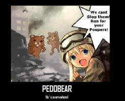 Pedobear No1 by debylni