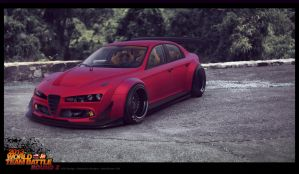 Alfa 159 OldSkool Widebody by ATC-Design