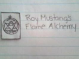 Roy Mustang's Flame Alchemy by CourtneyMonroe