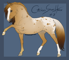 Calipso Import Horse #7 by BH-Stables
