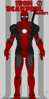 Iron DeadPool suit by LeM0N-head
