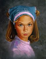 """""""The Girl with the Curl"""" by thomsontm"""