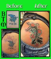 Dragon Cover-up by fbatman666