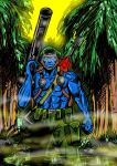 Rogue Trooper by EdGrimreaper