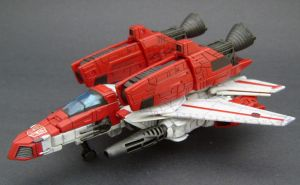 Jetfire Jet mode 1 by Jin-Saotome
