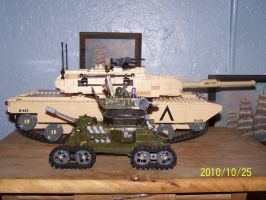 UNSC Bonaparte Raccoon Tank 25 by coonk9