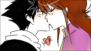 YYH - GAY SMOOCH by Love-Monstoh