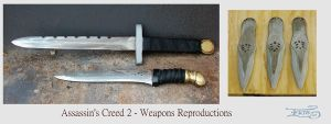 Assassin's Creed 2 blades by InKibus
