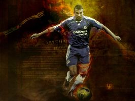 Shevchenko on Fire - wallpaper by BinM3mar