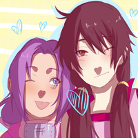 Me and Nee chan by BayneezOne
