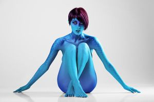 Mystique Body Paint by conzpiracy