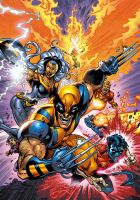 X-Men Cover by 007JR