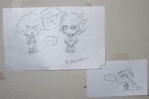 thank you 4 giant note card XD by slifertheskydragon