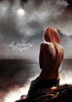 A lonely night - photomanipulation by theskyinside
