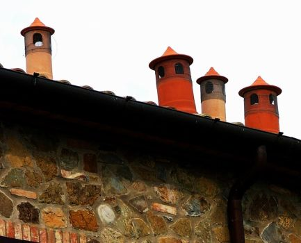 Tuscan chimneys by faather