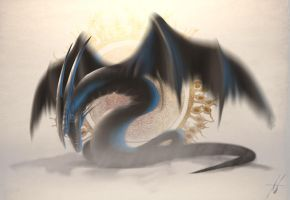 Concept: Ethereal Dragon by Grimdar