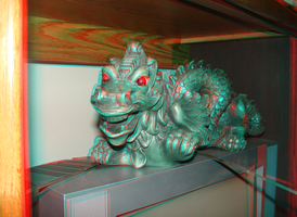 Tom's Dragon in 3D by LittleBigDave