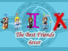 Me and my best friends nOn by Melifaith