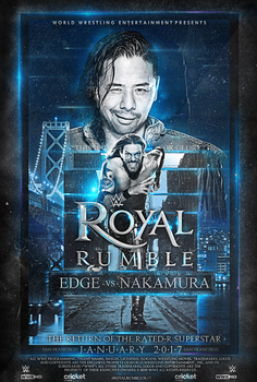 EDGE is back Royal Rumble 2k17 by fraH2014